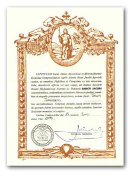 La credencial del camino de santiago y la compostela el for Oficina correos santiago de compostela