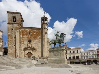 Plaza Mayor de Trujillo (Foto: Carlos Delgado)