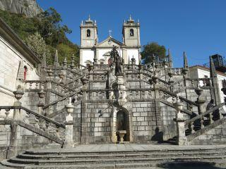 Santuario de Nossa Senhora da Peneda, en el Parque Nacional de Peneda-Gerês