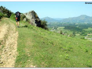 Monte Larrún desde el Camino de Baztan