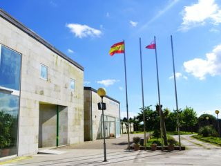 Albergue del Centro Europeo de Peregrinación Juan Pablo II, Monte do Gozo