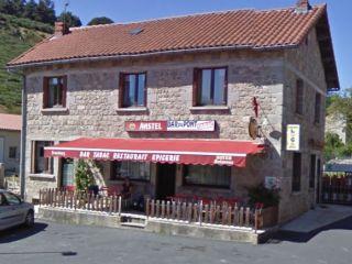 Gîte d'étape Le Café du Pont, Chanaleilles