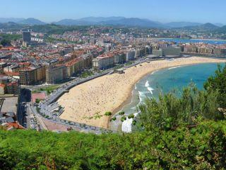 San Sebastián desde el Monte Ulía, Camino del Norte