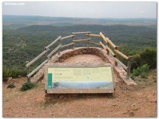 Alto del Calvario en la Vía de la Plata