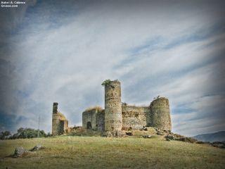 Castillo de Las Torres de Monesterio, Vía de la Plata