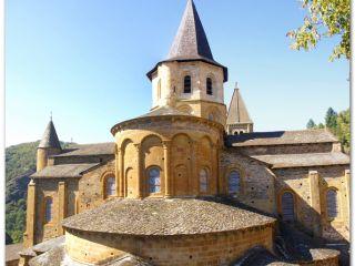 Abadía de Sainte-Foy de Conques, Camino de Le Puy