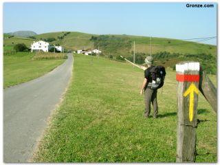 Salida de Zumaia, Camino del Norte