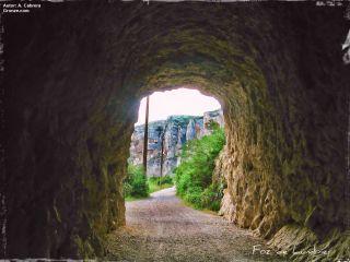 Entrada a la Foz de Lumbier, Camino Aragonés