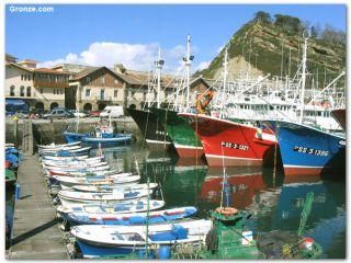 Puerto de Getaria, Camino del Norte