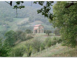Ermita de Santa Cristina de Lena, Camino del Salvador