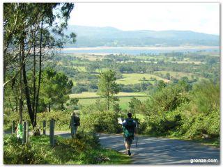 Monte Aro, Camino a Finisterre