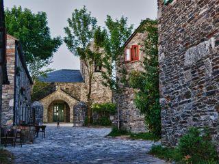 O Cebreiro; la aldea de mayor altitud del Camino en Galicia