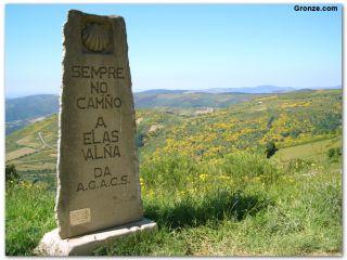 Monumento a Elías Valiña, O Cebreiro