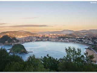 San Sebastián desde el Monte Igueldo, Camino del Norte