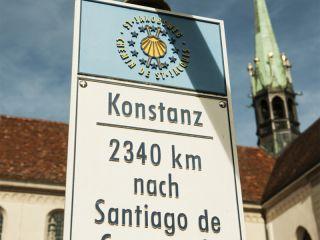 Inicio del Camino de Santiago en Konstanz (Alemania)
