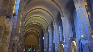 Interior de la iglesia de la abadía En-Calcat, Dourgne