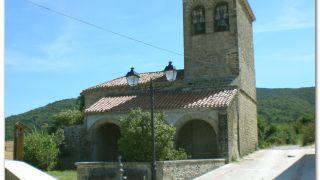 Iglesia de San Pedro, Abínzano