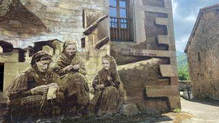 Ilustración en el albergue de Cicera