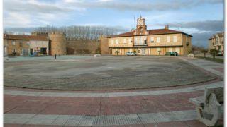 Plaza Mayor de Alija del Infantado