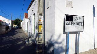Entrando en el pueblo de Alpriate