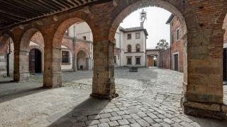 Piazza Ospitalieri, casco antiguo de Altopascio