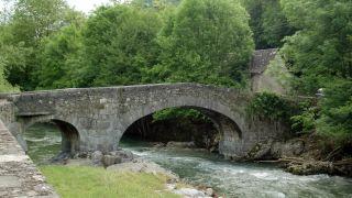 Puente sobre el río Le Lez, Aubert