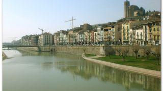 El río Segre, Balaguer