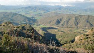 Vista desde el Balcón de los Pirineos, San Juan de la Peña