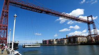 Barquilla del Puente Colgante entre Getxo y Portugalete