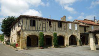 Casa porticada, Barran