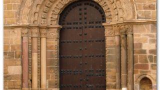 Portada norte de la iglesia de Santa María de Azogue, Benavente