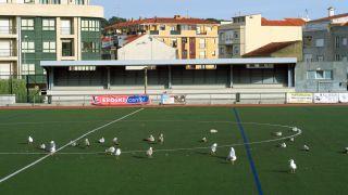 Campo de fútbol en Baiona