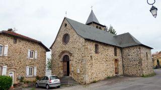 Capilla de Saint-Roch, entre Decazeville y Livinhac-le-Haut
