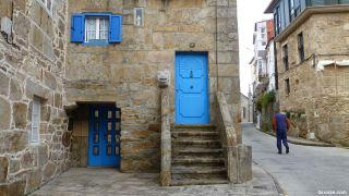 Casa en el casco antiguo de Corcubión