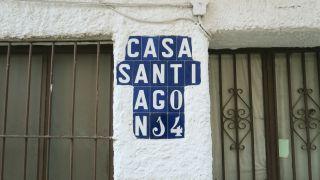 Curiosa división de sílabas, en una calle de Aracena