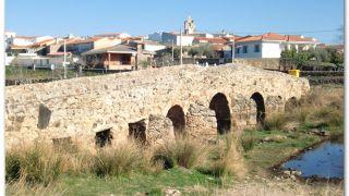 Puente romano, Casas de Don Antonio