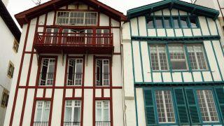 Casa tradicionales en Ciboure