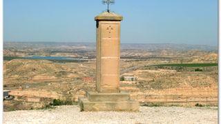 Vía Crucis en la entrada de Caspe