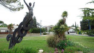 Monumento al año 2000 (junto al Camino), Castelnau-le-Lez