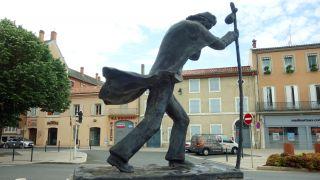 Monumento al Peregrino, Castres