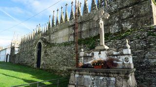 Cementerio en O Campo do Cristo (Goiriz)