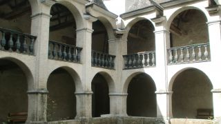 Claustro de la iglesia de Notre-Dame, Sarrance