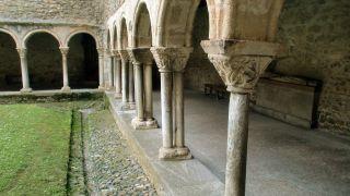 Claustro de la catedral de Saint-Lizier