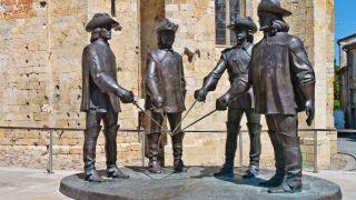 Escultura de D'Artagnan y Los Tres Mosqueteros, Condom