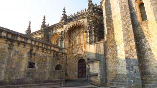 Portada del convento de Cristo en Tomar