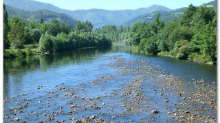 Río Narcea a su paso por Cornellana
