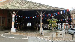 El mercado (la halle) de La Côte-Saint-André