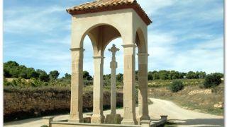 Creu de la Vall, en la salida de Batea