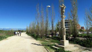 Crucero tras el cementerio de Fuencarral