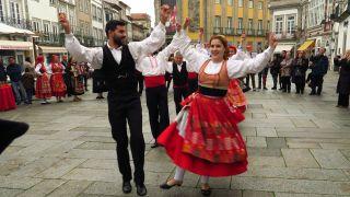 Danzas y trajes tradicionales en Viana do Castelo